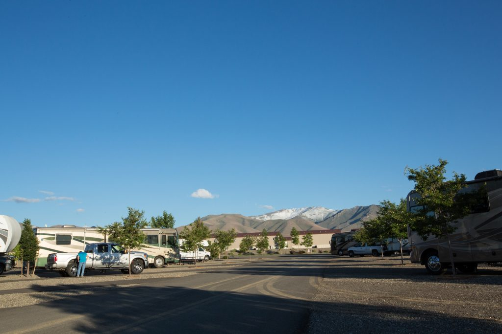 New Frontier RV Park has it all